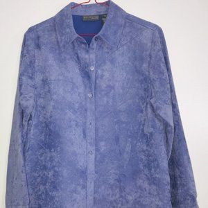 Relativity ~ Long Sleeve Button Down  Petite Small